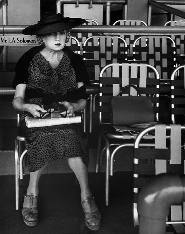 Lisette Model(American, born Austria 1901-1983) 'Belmont Park' 1956