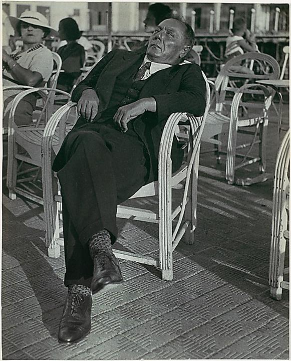 Lisette Model(American, born Austria 1901-1983) 'Gambler, French Riviera' 1937