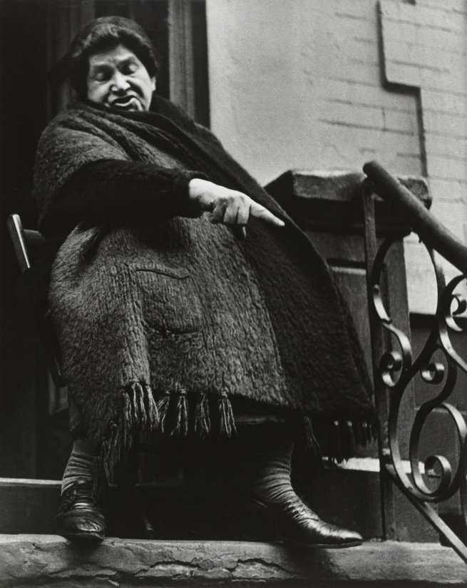 Lisette Model (American, born Austria 1901-1983) 'Lower East Side' c. 1942
