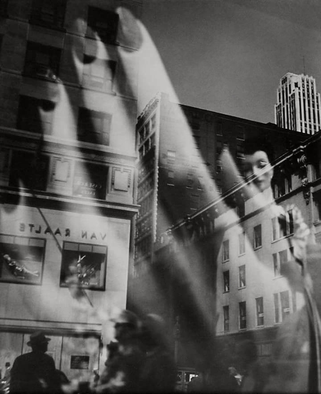 Lisette Model (American, born Austria 1901-1983) 'Reflection' [Reflet] c. 1939-1945