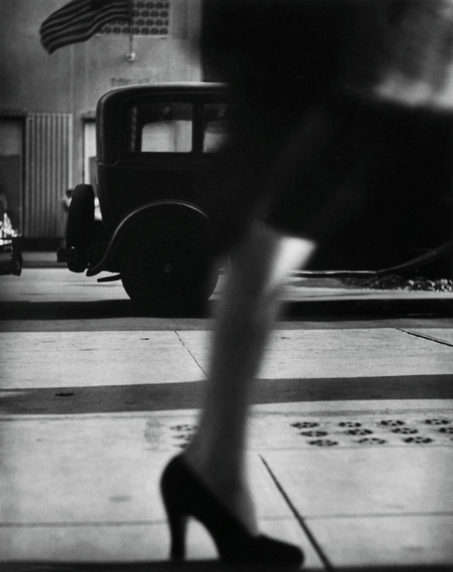 Lisette Model (American, born Austria 1901-1983) 'Running Legs, 5th Avenue' c. 1940-41