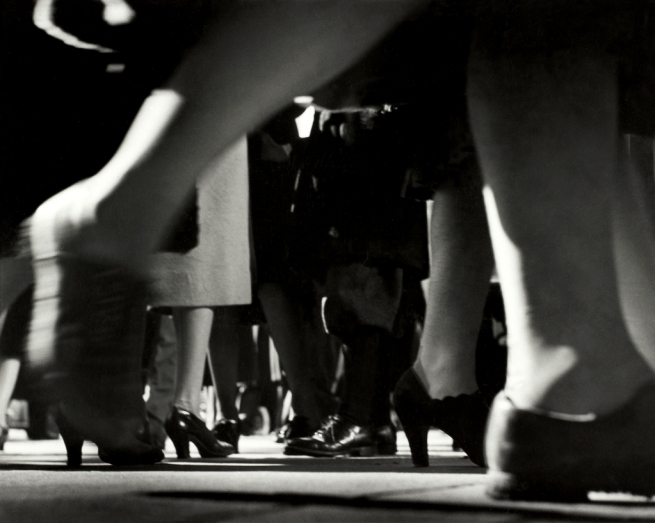 Lisette Model (American, born Austria 1901-1983) 'Running Legs, NYC, 42nd Street' c. 1940-41