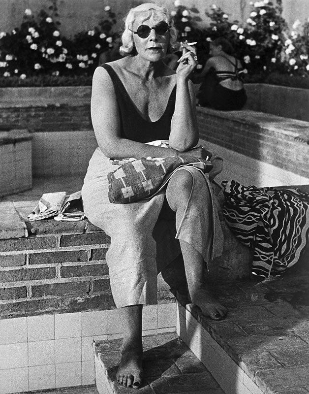 Lisette Model(American, born Austria 1901-1983) 'Promenade des Anglais' Nice c. 1934