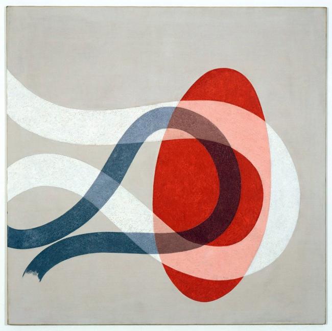 László Moholy-Nagy (Hungarian, 1895-1946) 'CH SPACE 6' 1941
