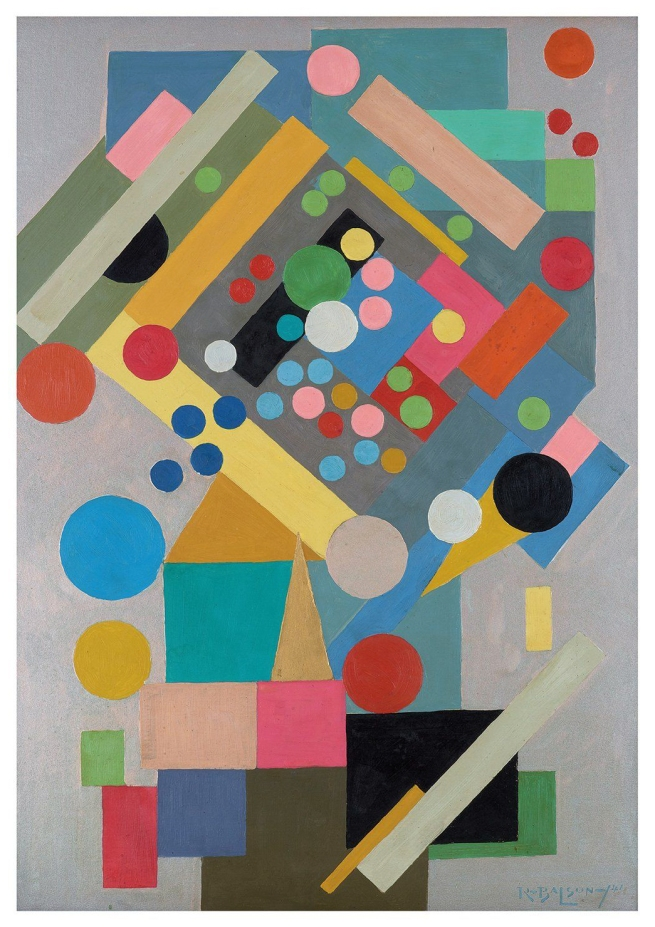 Ralph Balson (Australian, 1890-1964) 'Painting no. 17' 1941