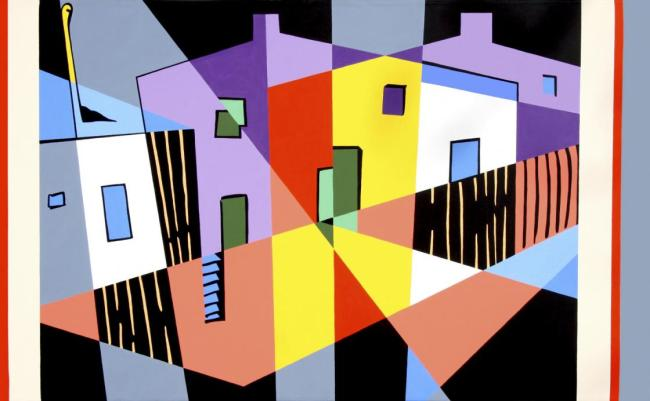 Robert Rooney (Australian, 1937-2017) 'After Colonial Cubism' 1993