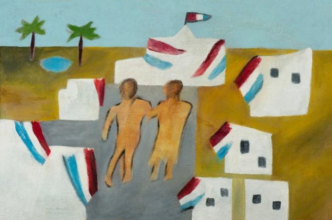 Sidney Nolan (Australian, 1917-1992) 'Rimbaud royalty' 1942