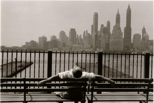 Louis Stettner American, born 1922 Manhattan from the Promenade, Brooklyn, New York 1954
