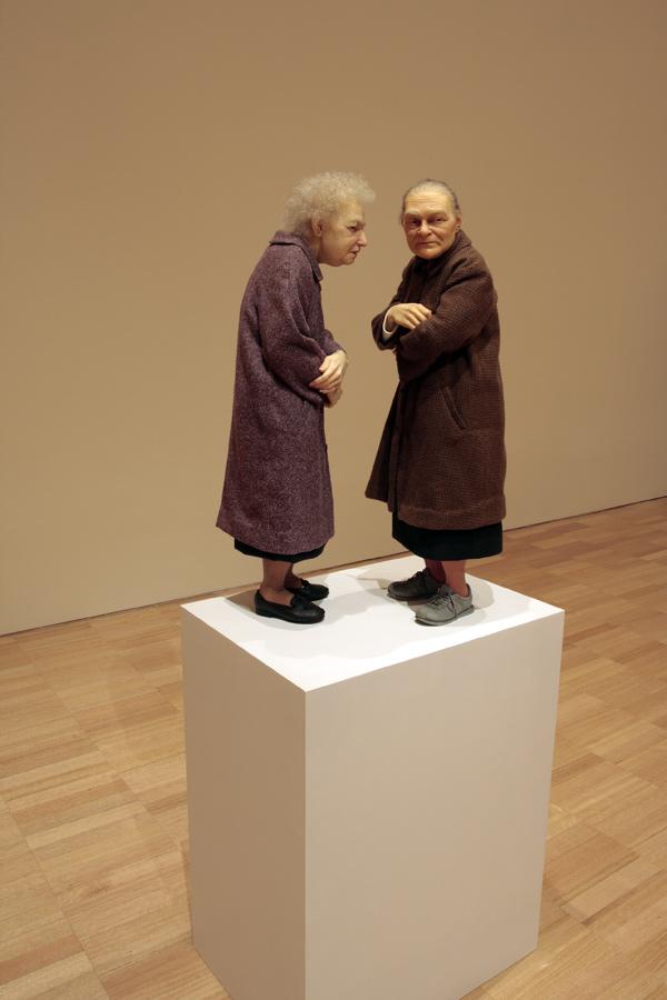 Ron Mueck(Australian b. 1958) 'Two Women' 2005