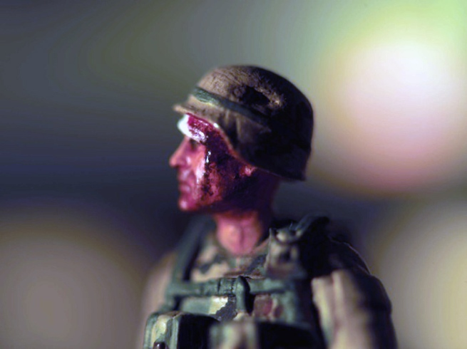 David Levinthal (American, b. 1949) 'Untitled' from the series 'IED' 2008