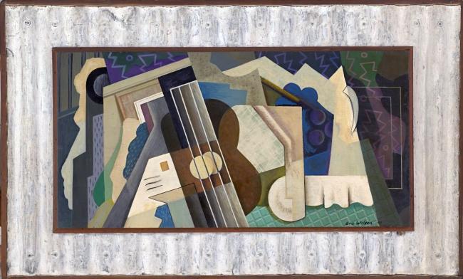 Eric Wilson (Australian, 1911-1946) 'Theme for a mural' 1941