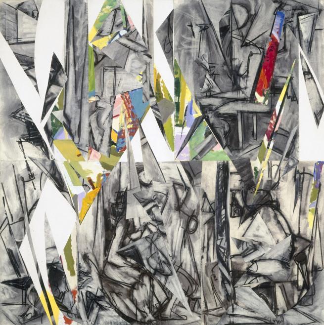 Lee Krasner (American, 1908-1984) 'Imperative' 1976