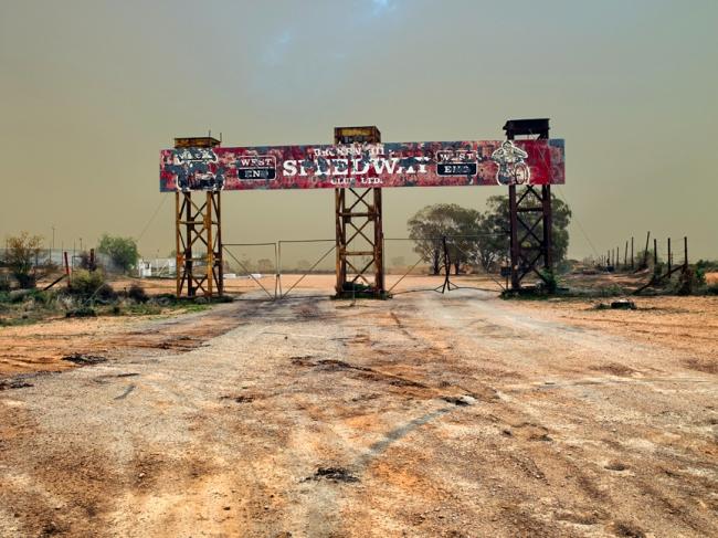 Shane Hulbert. 'Broken Hill Speedway' 2009