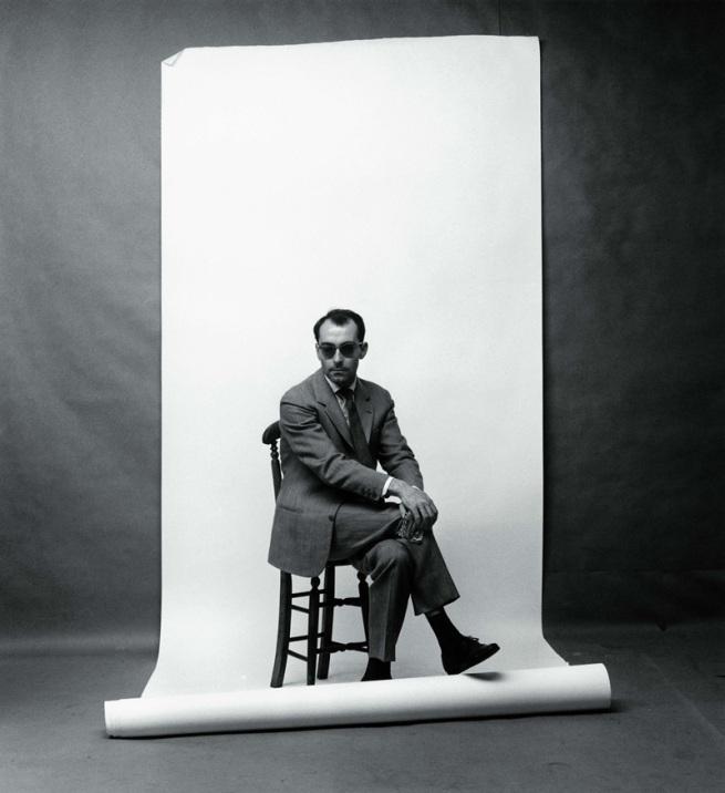 F.C. Gundlach (German, b. 1926) 'Jean-Luc Godard' Berlin 1961