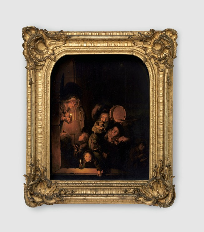 Ornamental frame in the style of the Rococo Mannheim, around 1750