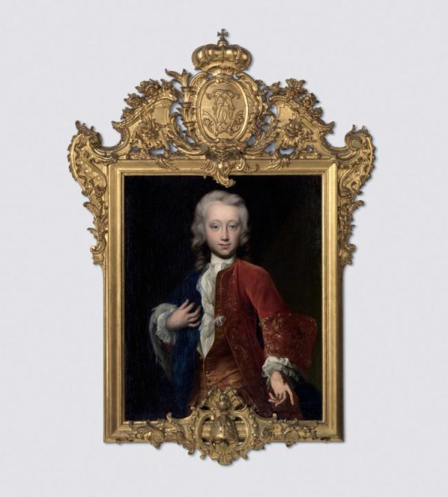 Rococo style Ansbach, around 1740