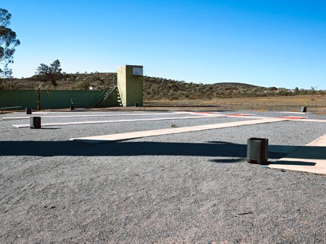Shane Hulbert(Australian) 'Shooting Range' 2009