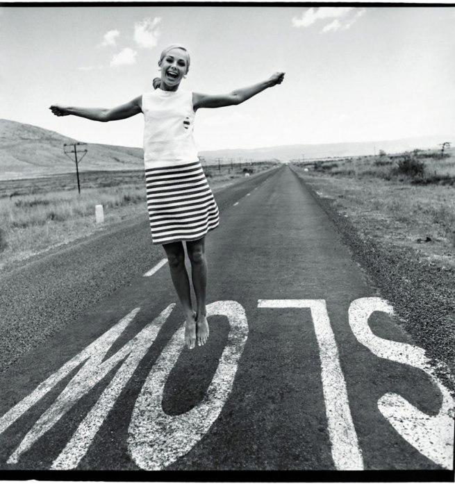 F.C. Gundlach (German, b. 1926) 'Slow. Karin Mossberg' Nairobi/Kenia 1966