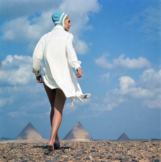 F.C. Gundlach (German, b. 1926) 'The Whole Day on the Beach' Gizeh/Egypt 1966