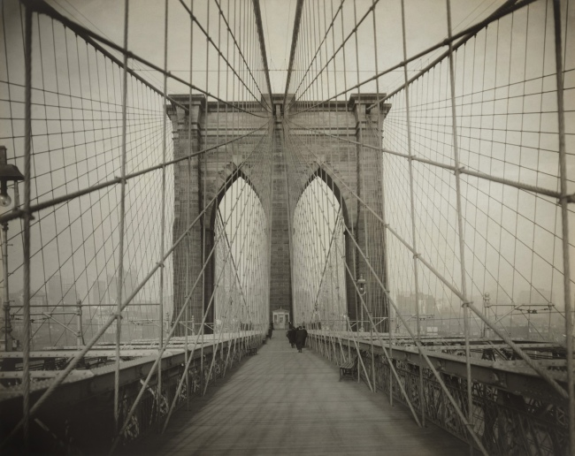 Unknown photographer. 'Brooklyn Bridge' c. 1914
