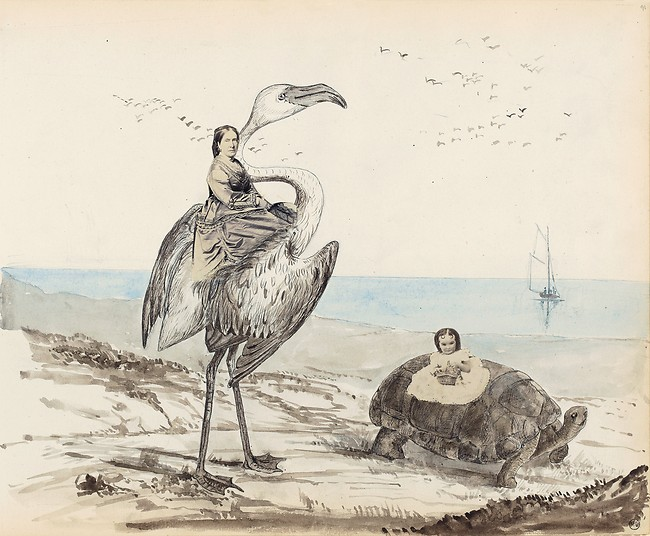 Georgina Berkeley (English, 1831-1919) Untitled page from the'Berkeley Album' 1867/71