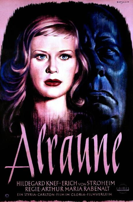 'The Bloody Pit of Horror: Alraune' (1952) film poster
