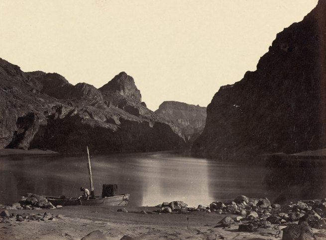 Timothy H. O'Sullivan (American, 1840-1882) 'Black Cañon, Colorado River, From Camp 8, Looking Above' 1871