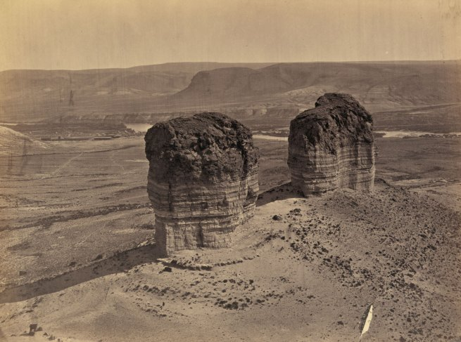 Timothy H. O'Sullivan (American, 1840-1882) 'Buttes near Green River City, Wyoming' 1872