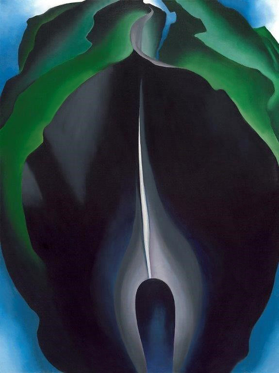 Georgia O'Keeffe (American, 1887-1986) 'Jack-in-the-Pulpit No. IV' 1930