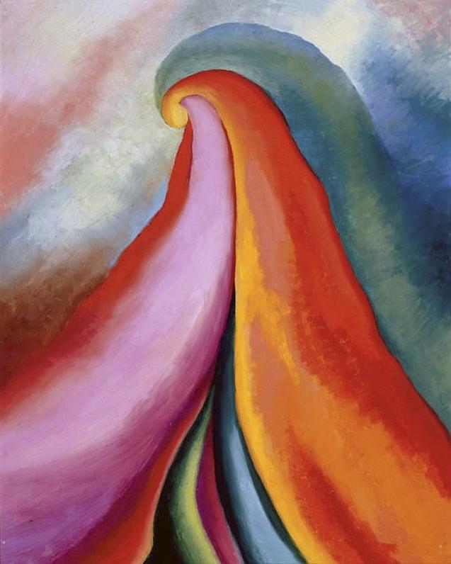 Georgia O'Keeffe(American, 1887-1986) 'Series I, No. 4' 1918