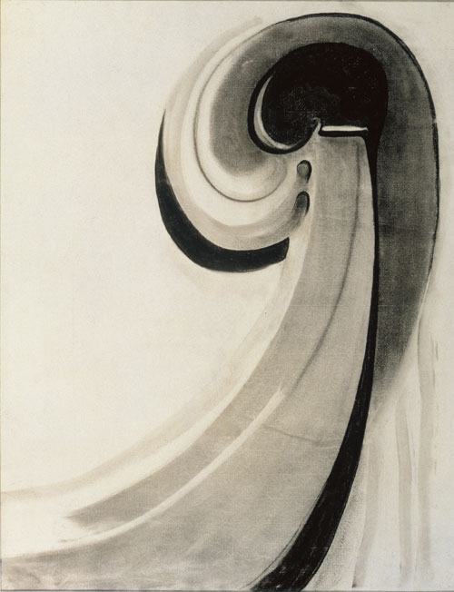 Georgia O'Keeffe (American, 1887-1986) 'Early Abstraction' 1915