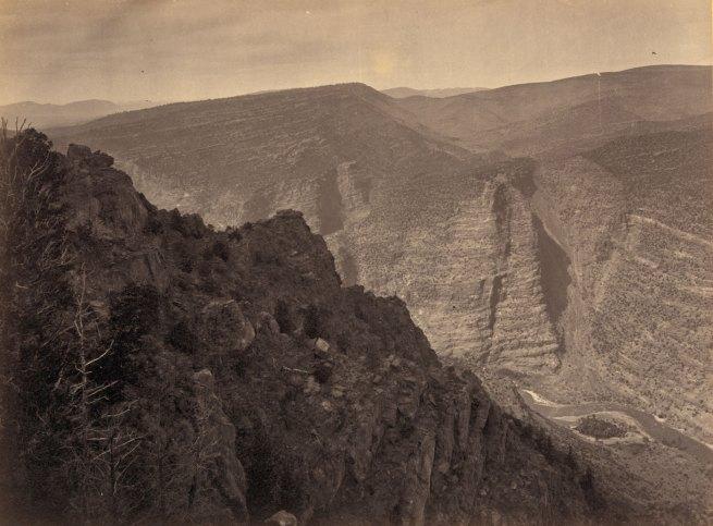 Timothy H. O'Sullivan(American, 1840-1882) 'Green River Cañon, Colorado' 1872