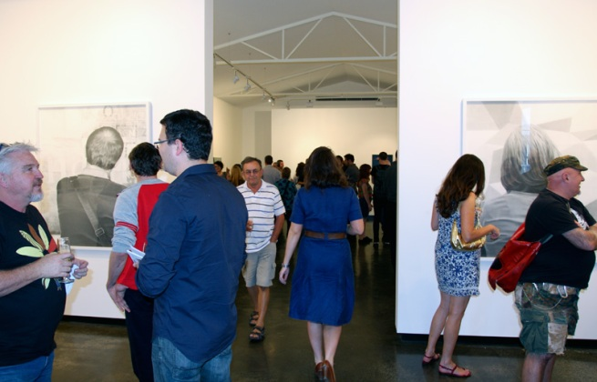 Sophie Gannon Gallery opening