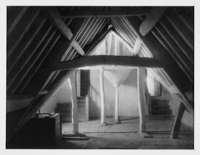 Frederick H. Evans (British, 1853-1943) 'Kelmscott Manor: Attics' 1896