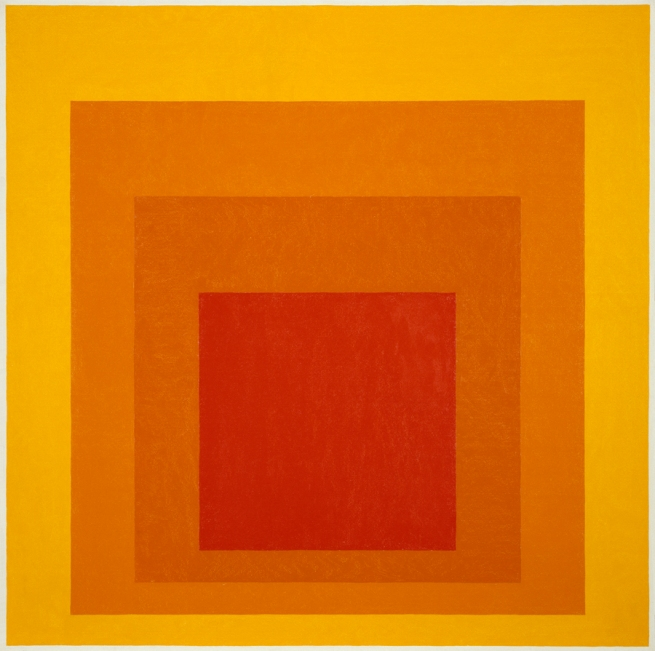 Josef Albers (German, 1888-1976) 'Homage to the Square - Glow' 1966