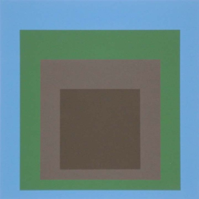 Josef Albers (German, 1888-1976) 'Homage to the Square - Porta Negra' 1965