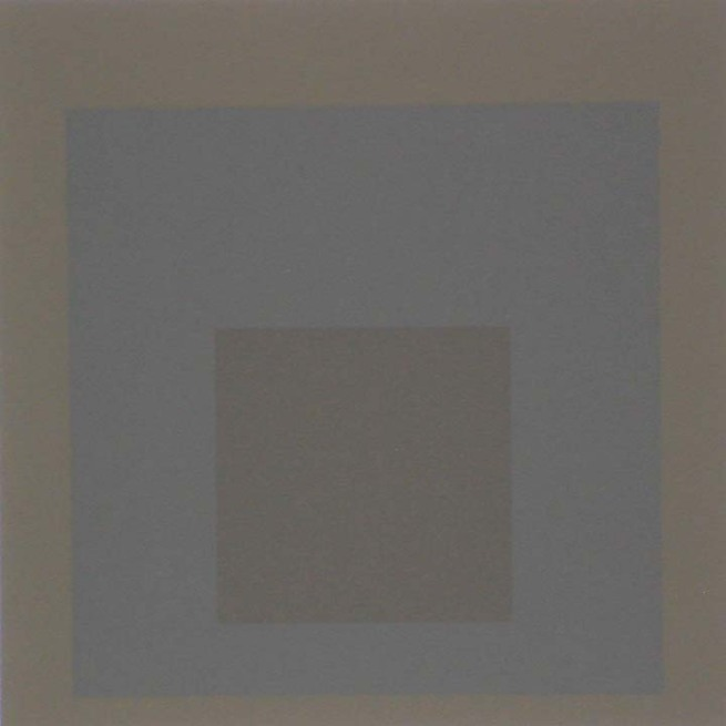 Josef Albers (German, 1888-1976) 'Homage to the Square - Profundo' 1965