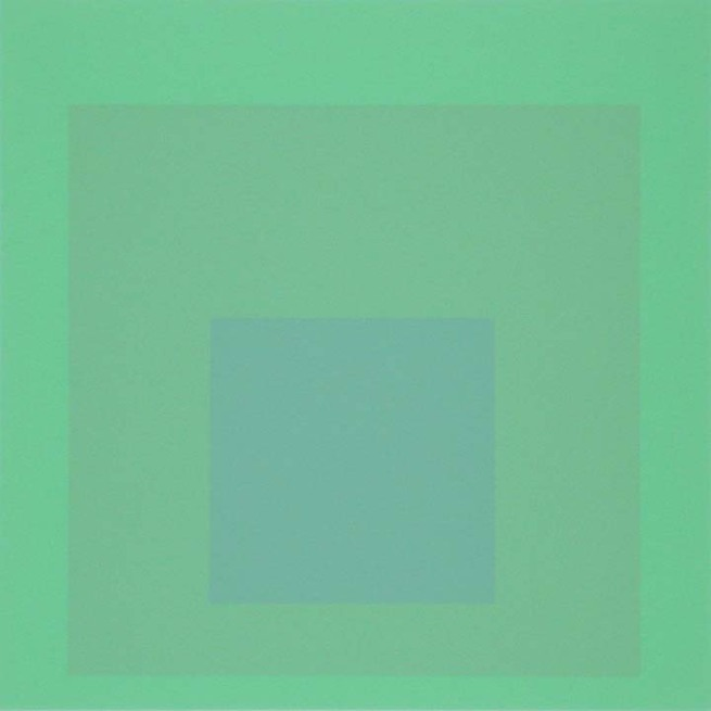 Josef Albers (German, 1888-1976) 'Homage to the Square. Soft Edge - Hard Edge' 1965