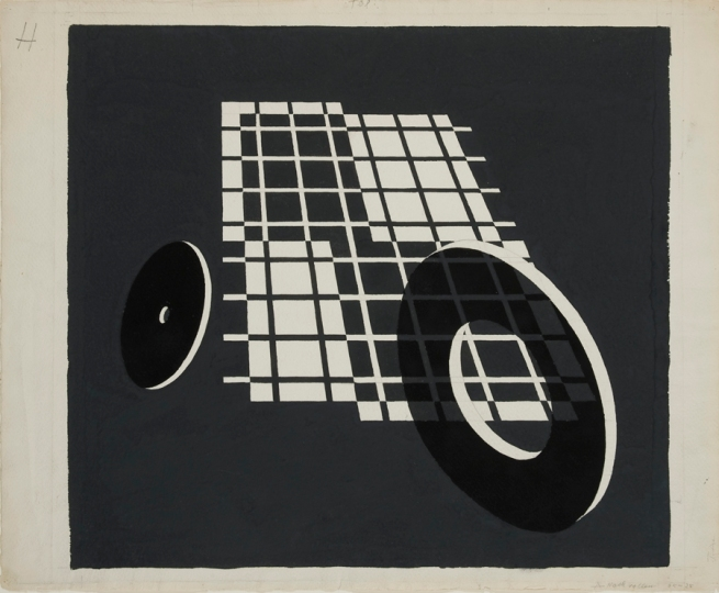 Josef Albers (German, 1888-1976) 'Rolling After' 1925-28