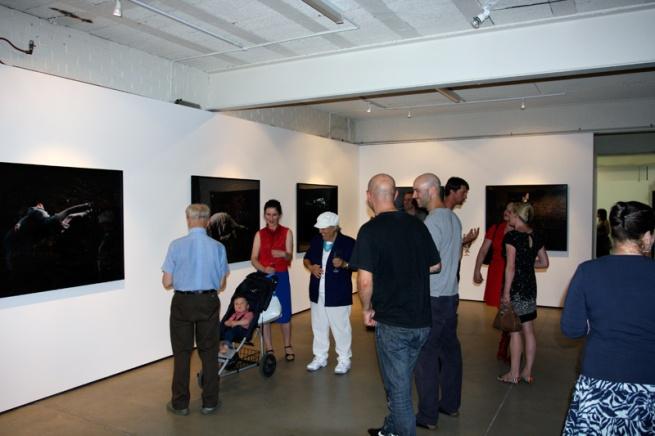 Karen Woodbury Gallery - Simon Obarzanek opening