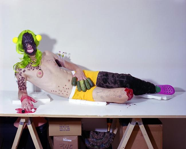 Olaf Breuning(Swiss, b. 1970) 'Brian' 2008