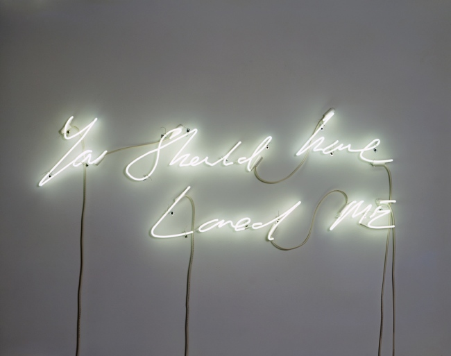 Tracey Emin(English, b. 1963) 'You Should Have Loved Me' 2008