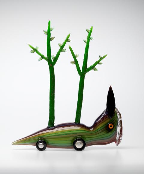 Tom Moore(Australian) 'Tree-Feet, Dollbird' 2008