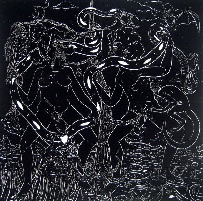 Will Villalongo(American, b. 1975) 'The Last Days of Eden' 2009