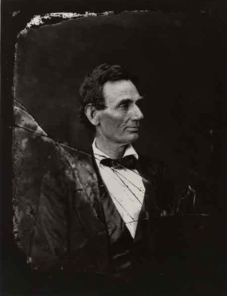 Alexander Hesler. 'Abraham Lincoln' June 3,1860 Springfield, Illinois