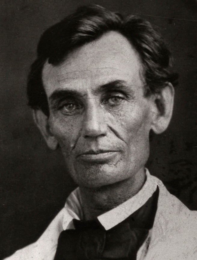 Abraham B. Byers(American) 'Abraham Lincoln' May 7, 1858