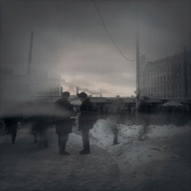 Alexey Titarenko. '#15 Untitled (Asking for a Smoke)' 1995