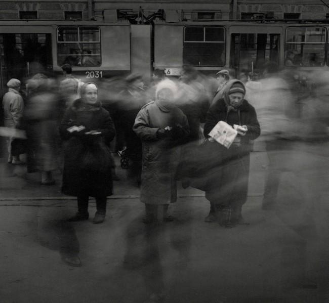 Alexey Titarenko. '#7 Untitled (Three Women Selling Cigarettes)' 1992