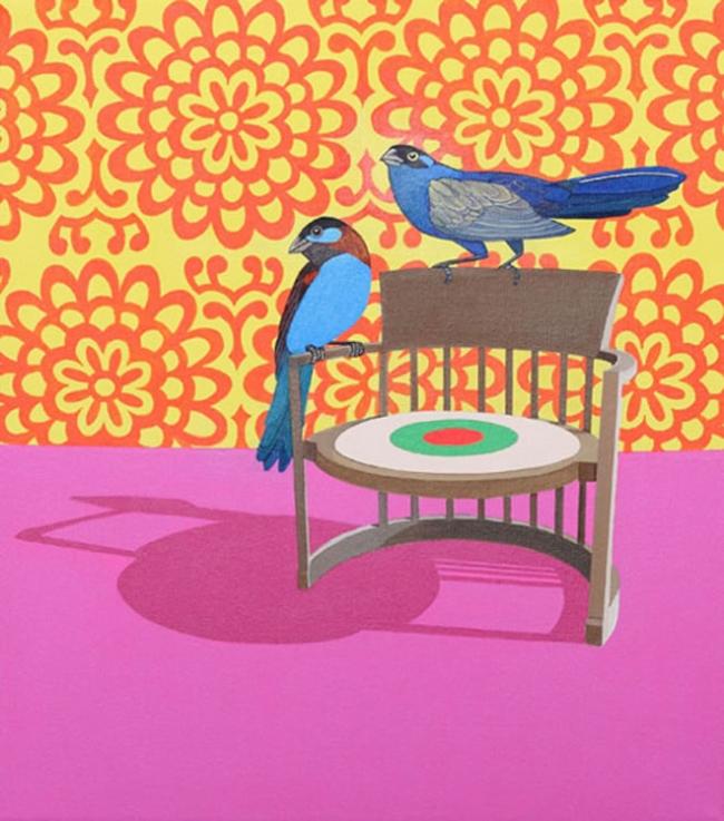 Claudia Damichi. 'Birds eye' 2010