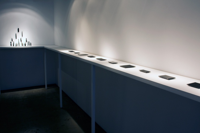 Installation view of the exhibition 'To hold and be held' by Kiko Gianocca at Gallery Funaki, Melbourne